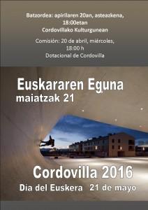 Euskararen Eguna 2016