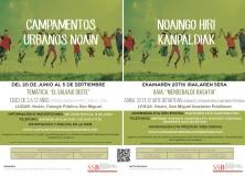 CAMPAMENTOS URBANOS MANCOMUNADOS EN NOAIN