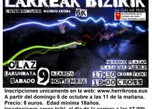 Gaueko  Krosa:  LARREAK  BIZIRIK