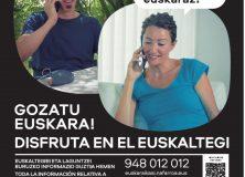 ¡La próxima en euskera! Campaña de matriculación de adultos