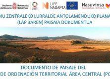 Documento de Paisaje del ámbito del Área Central (POT 3). Solicitud de colaboración en el proceso de participación.