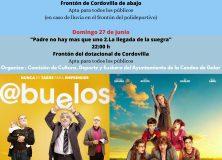 Cine al aire libre en Cordovilla
